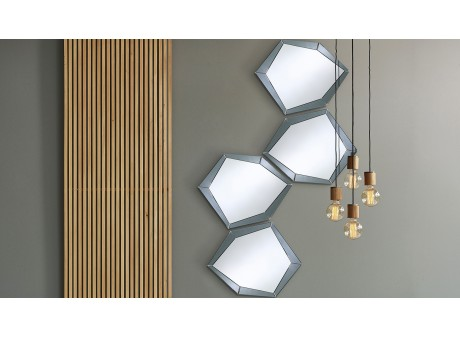 Miroir POLYGON GREY