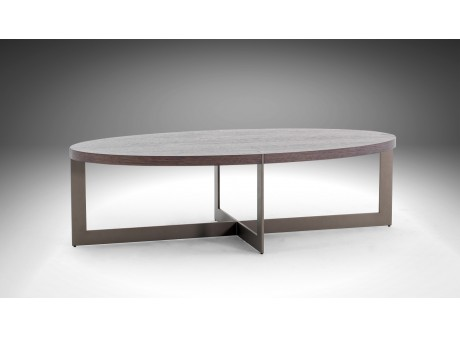 Table basse ovale MANHATTAN