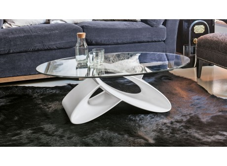 Table basse verre ECLIPSE