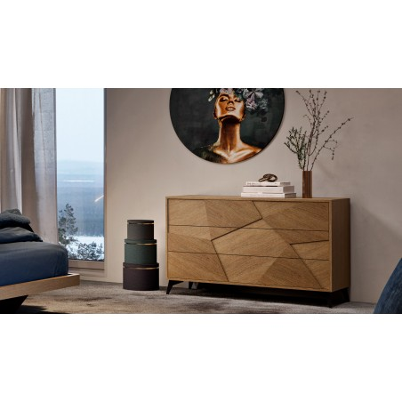 Commode 3 tiroirs ECLIPSE