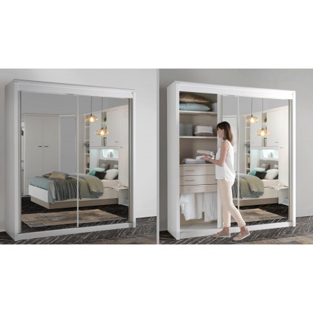 Armoire 2 portes coulissantes MULTY