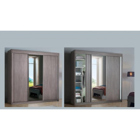 Armoire 3 portes coulissantes MULTY